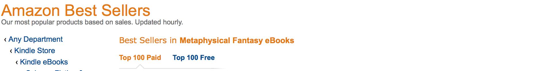 Top 20 in Amazon Seller List
