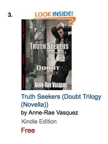 #3 Amazon Best Seller Truth Seekers - Doubt Trilogy Novella 1