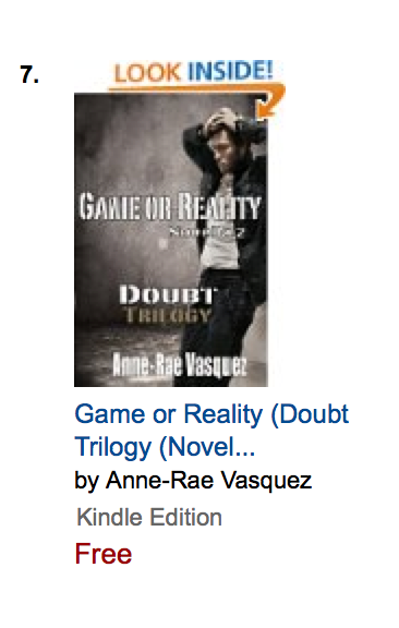 #7 Game or Reality - Doubt Trilogy - Novella 2