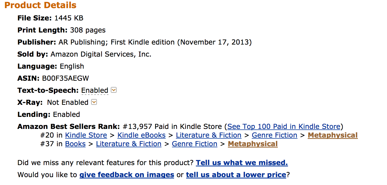 Book Gorilla helps Doubt rise to #20 on Amazon Best Seller List