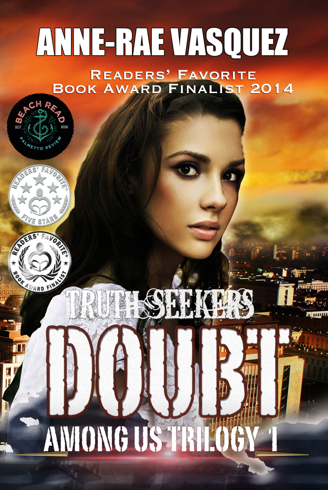 Readers' Favorite Book Award 2014 - Doubt book 1 of Among Us Trilogy by Anne-Rae Vasquez