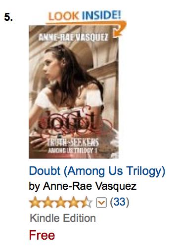 #5 Amazon Best Seller Post Apocalyptic - Doubt Among Us Trilogy