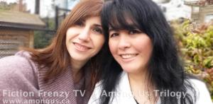 Developmental editor Josefina Rosado and author Anne-Rae Vasquez