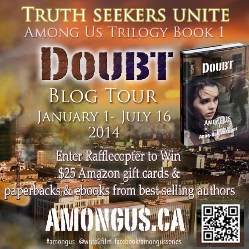 Doubt - Among Us TrilogyBlog Tour 2014