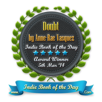 Indie Book of the Day award for Doubt (Among Us Trilogy)