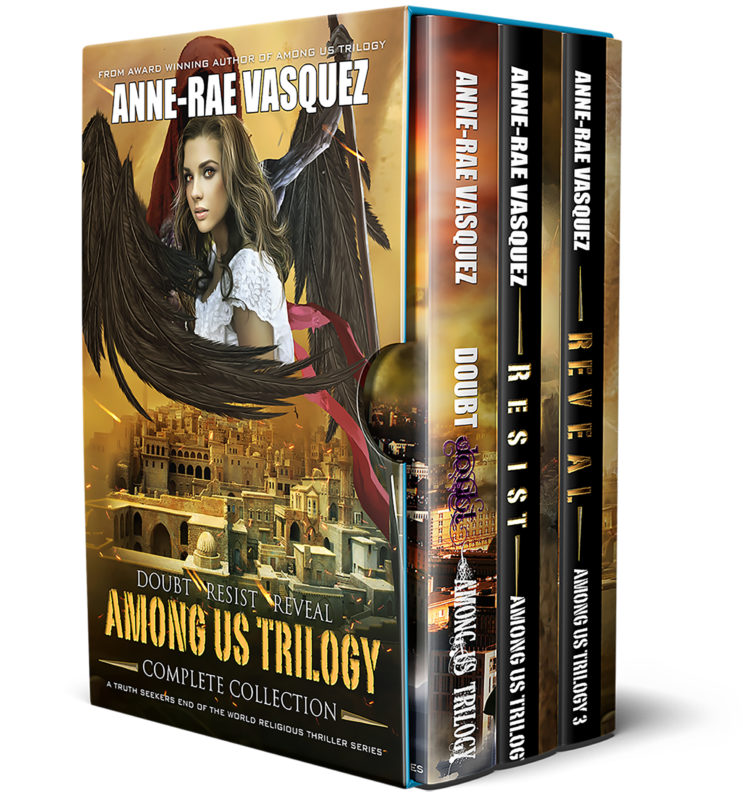 Among Us Trilogy Books 1-3